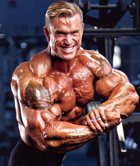 Lee Priest – Professional Bodybuilder, Race Car Driver and Movie Actor