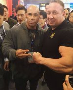 Kevin Levrone and Markus Ruehl at the expo in Shanghai.jpg