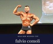 posing routine FULVIO COMOLI 2018  ben weider cup ifbb pro qualifer men's classic physique.jpg