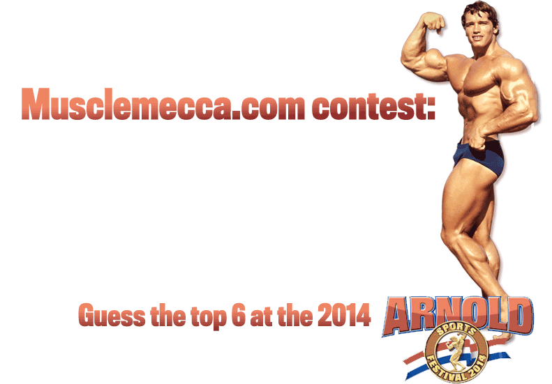 Arnold Classic 2014 Top 6 Contest