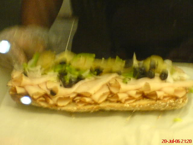 My Hardcore Subway Sandwich