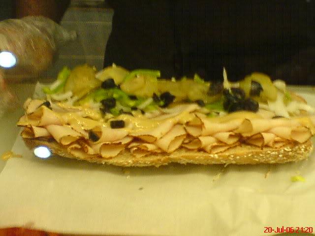 My Hardcore Subway Sandwich