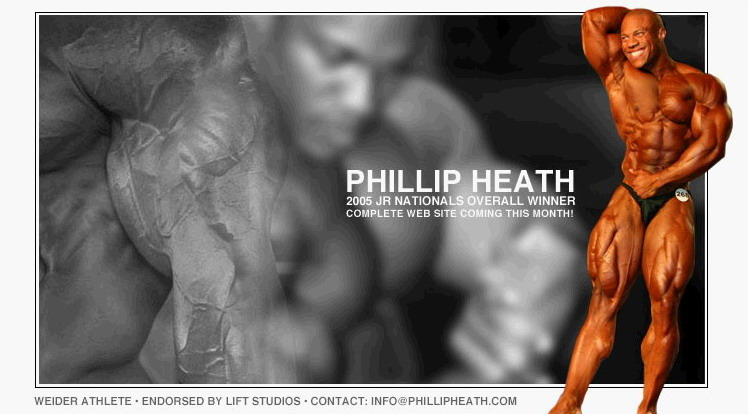 Phil Heath!!!!! Pictures!!!!!
