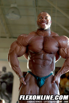Phil Heath 4 Weeks Out 240lbs IRONMAN PRO
