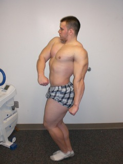 12 Weeks Out (223lbs)