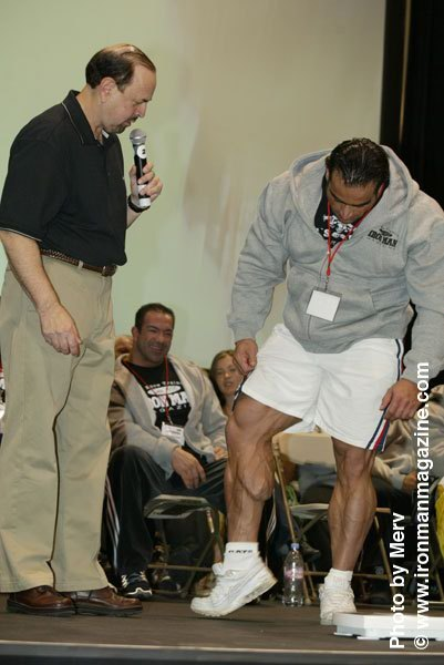 IRONMAN 2008 weight-in pics