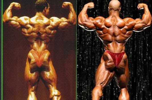 Flex Wheeler vs. Phil Heath