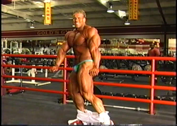 Jay Cutler - Day After the 2001 Olympia