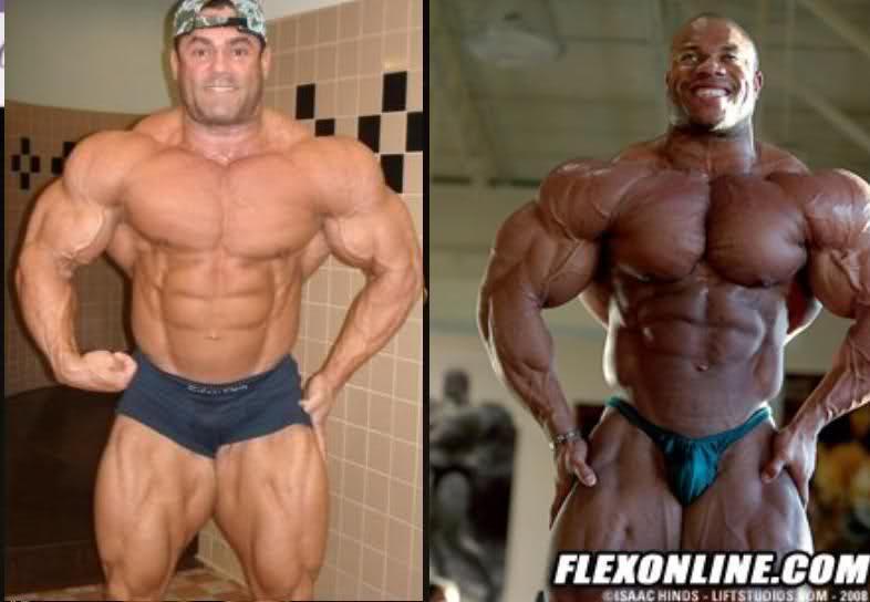 Phil Heath vs. Gustavo Badell