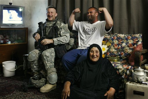 Iraqi musclehead!