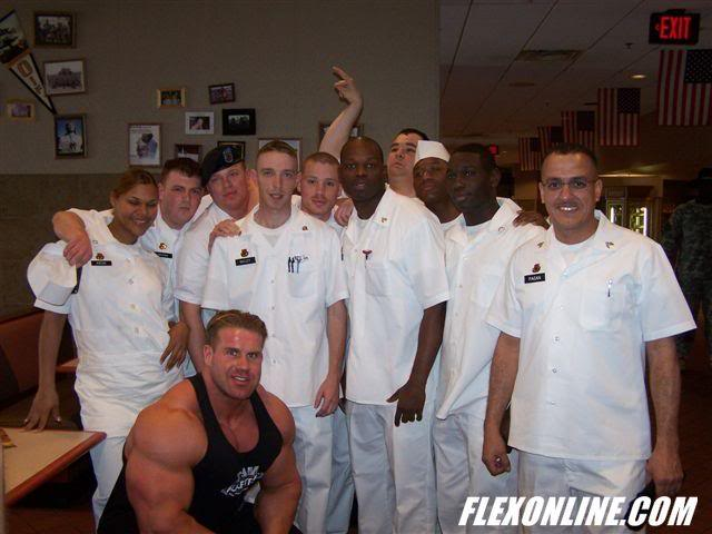 Mr. Olympia in Fort Hood, Texas.