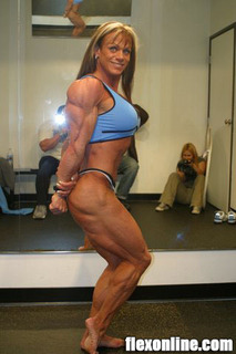 CATHY LEFRANCOIS ONE WEEK OUT ARNOLD 2008