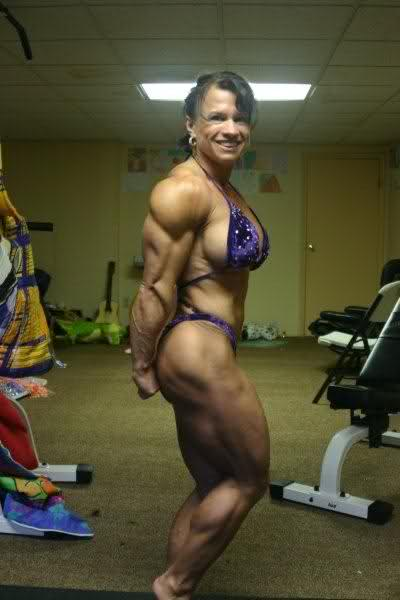 Alicia St. Germaine 1 week out Arnold amateur