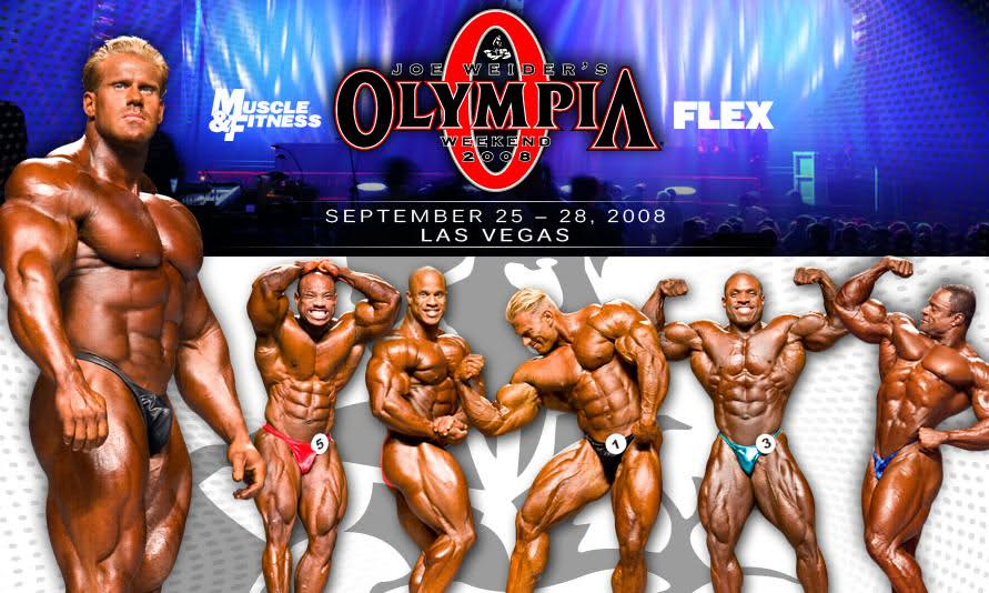 New Mr. Olympia 2008 page up