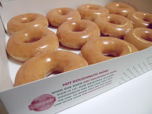 The Gift at Krispy Kreme
