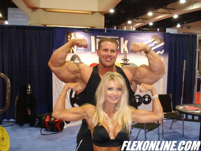 Mr. O at the IHRSA show in San Diego and Max Muscle of Rancho Cucamonga, Ca