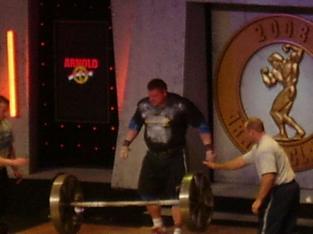 Me at the ASC: The Expo, Men's Finals, and Strongman (Apollon's Wheel event)