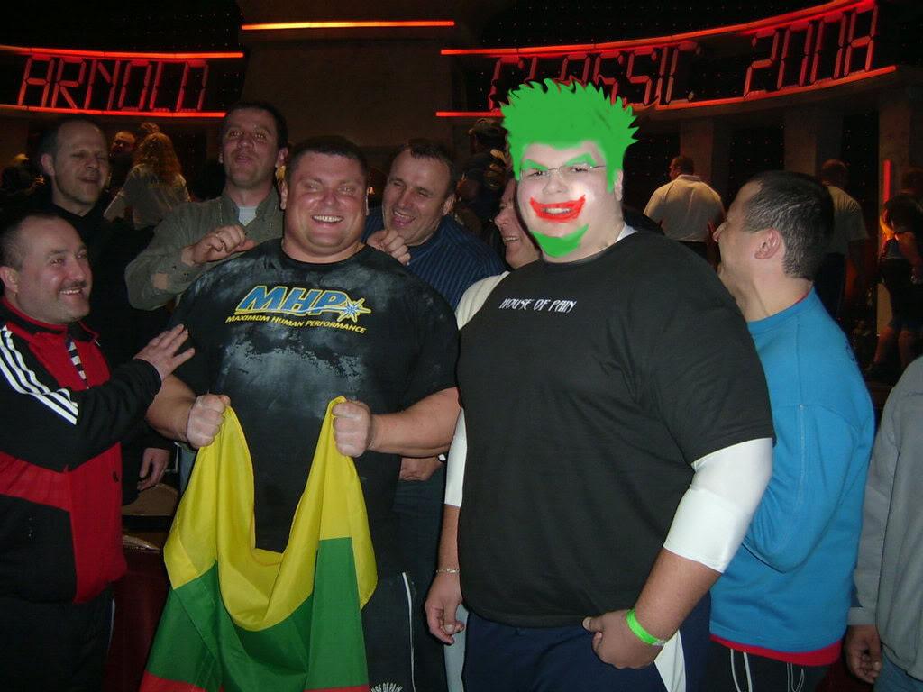 Me at the ASC: The Expo, Men's Finals, and Strongman (Apollon's Wheel event)