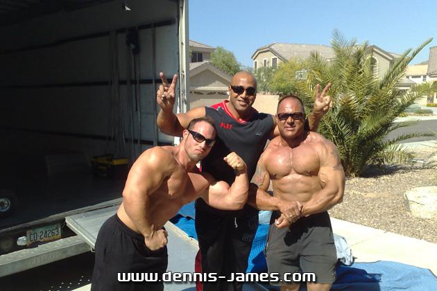 NEW DENNIS JAMES PICS FROM NEW HOUSE PHOENIX, ARIZONA
