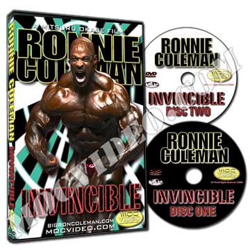 New Ronnie Coleman DVD - Invicible!!!