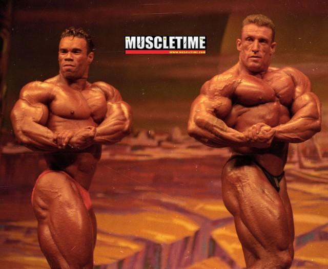 Kevin Levrone Vs Dorian Yates(Olympia 1995)