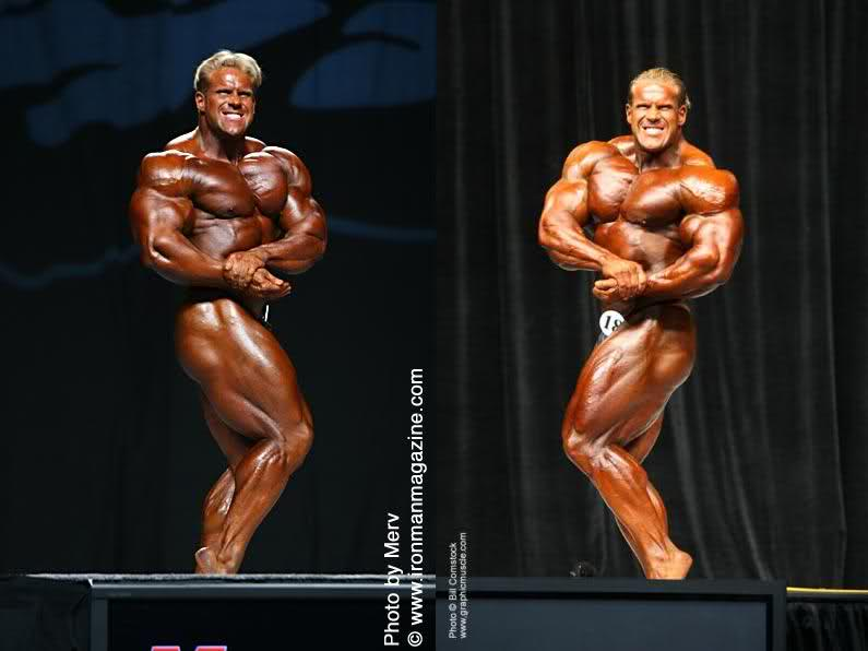 Jay Cutler's Right vs Left Side Chest Pose