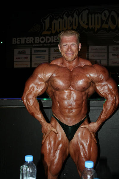 Dennis Wolf, 4 months out Mr.Olympia 2008!!!