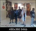 Dennis today at the The Second Al Fereei Al Khaleei-Bodybuilding Championship Kuwait