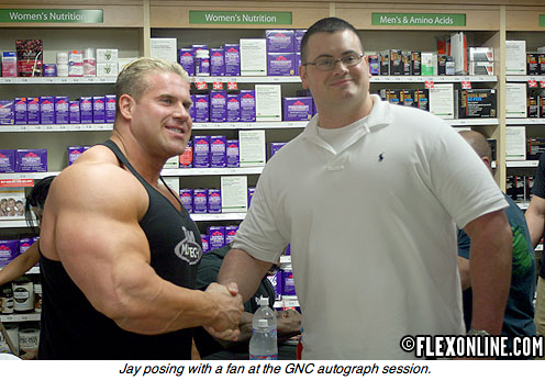 Ronnie & Jay Hit GNC Headquarters
