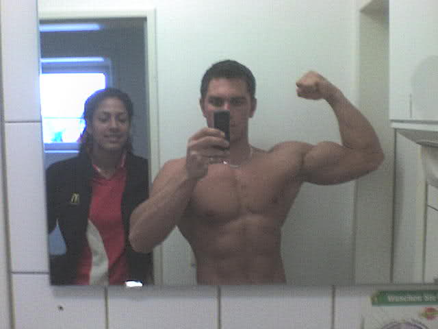 Hey there - I'm a bodybuilder from Germany.