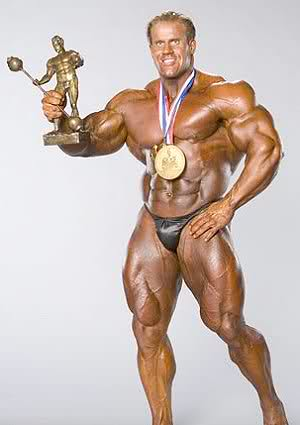 Jay will be Mr.Olympia until he retires