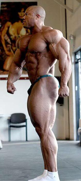 Phil Heath 5, 4, 3...1 Weeks Out of Ironman Pro - PICS