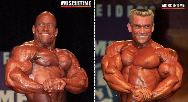 Shawn Ray Vs Lee Priest (Olympia 1998)