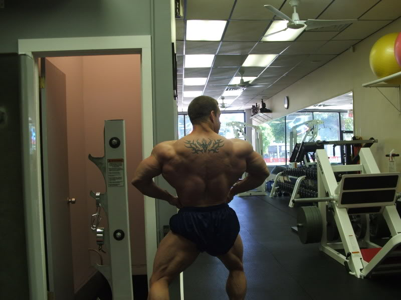 VINNY GALANTI 5 WEEKS OUT MASTER NATIONALS