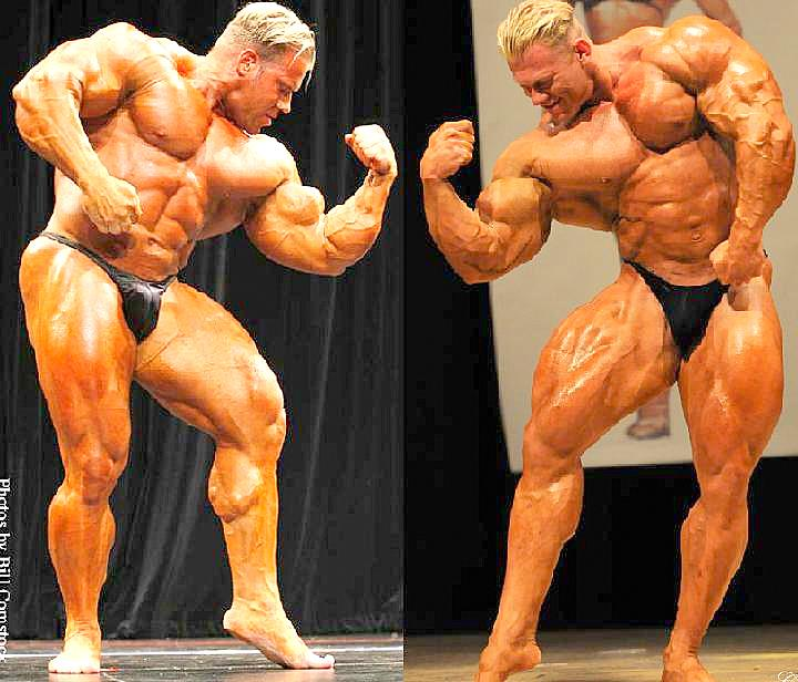 WOLF VS JAY 13 WEEKS OUT OLYMPIA 2008