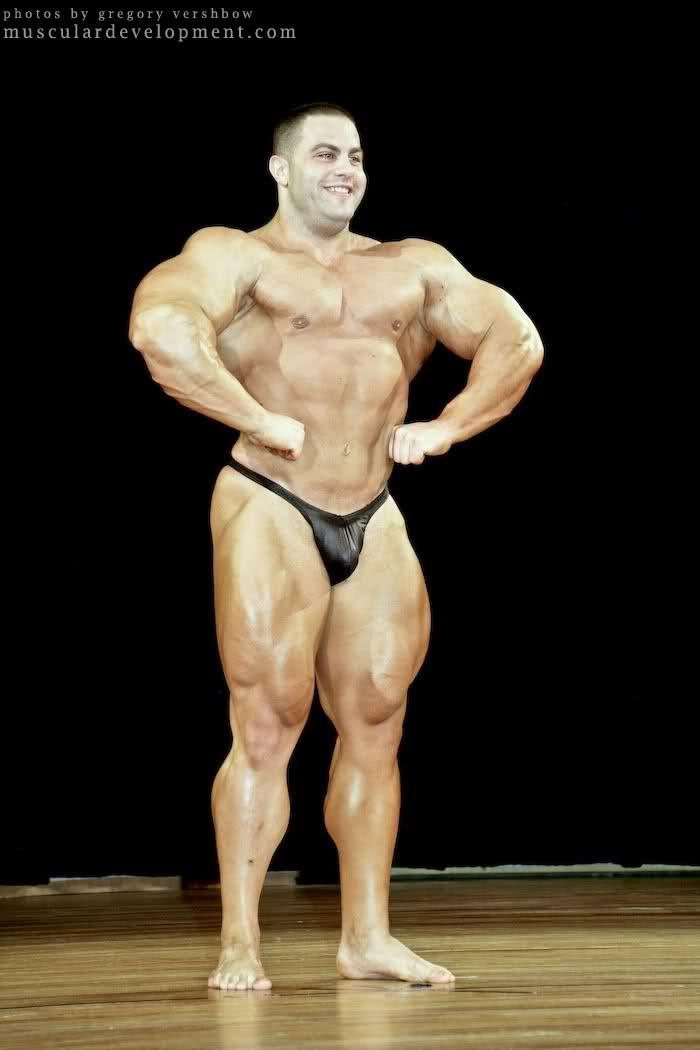 Evan Centopani Guest Posing