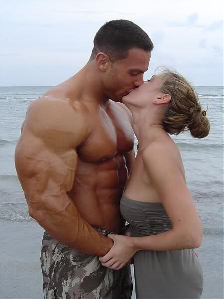 Evan Centopani with Girlfriend