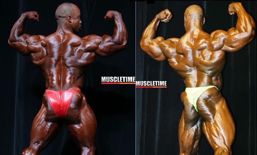 Best Arnold Classic back: Coleman(2001)  VS  Victor(2007)