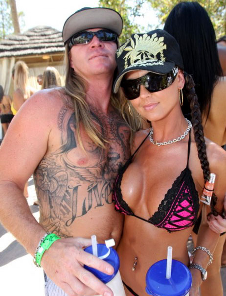 Hot chicks with Douchebags.