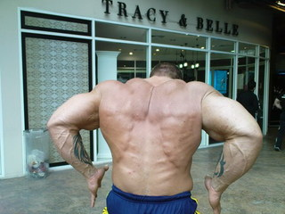LUKE WOOD 7 WEEKS OUT ATLANTIC CITY PRO