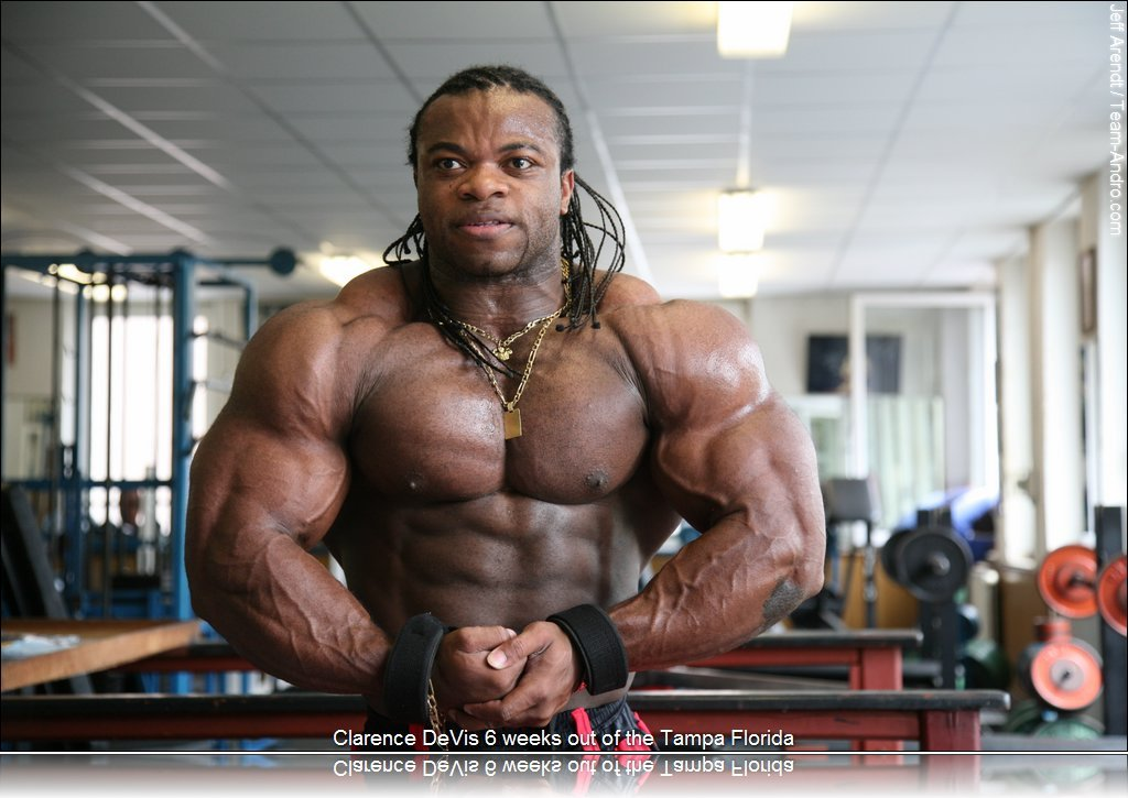 CLARENCE DAVIS 6 WEEKS OUT TAMPA PRO