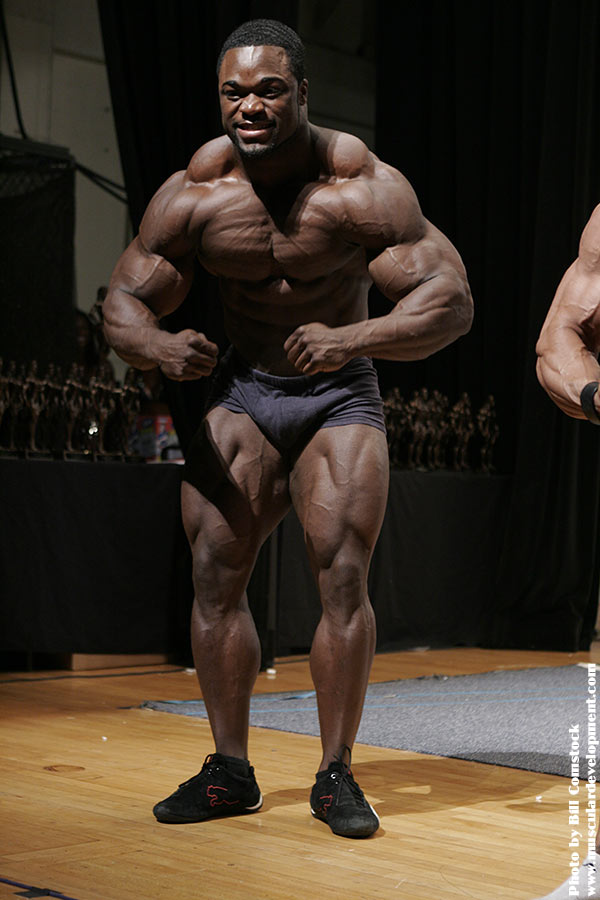Brandon Curry Guest Posing 1 Week from the USA
