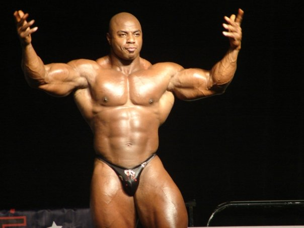 TONEY FREEMAN 10 WEEKS OUT WEIDER OLYMPIA 2008