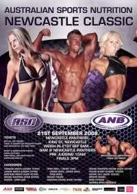 Australian Sports Nutrition Newcastle Classic*Lee Priest*
