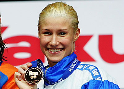 Finnish swimming beauty:Hanna-Maria Seppälä