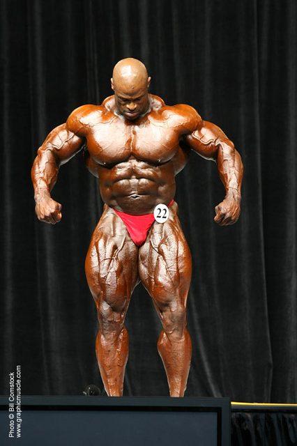 Victor Martinez vs. Ronnie Coleman (2006 Olympia)