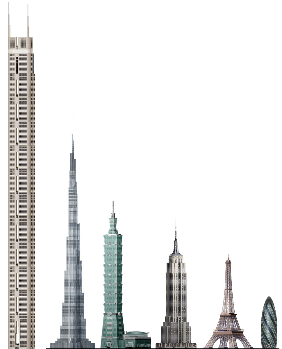 Tallest skyscraper in the world almost done