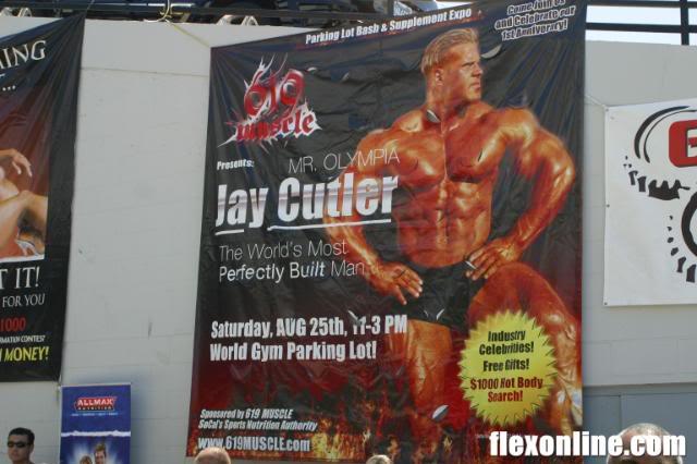 Jay at World Gym,San Diego