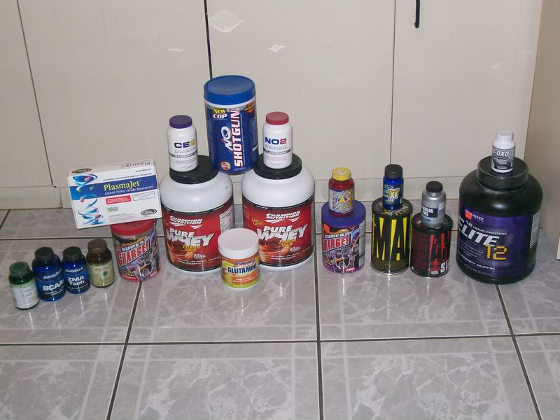 What kind of supplements do you use..?