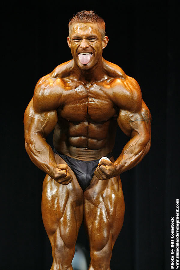 Does Flex Lewis have a future in the pro ranks?